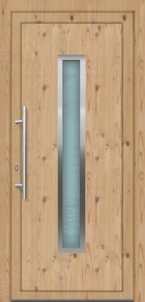 """Kunststoff Haustür """"LORE"""" 70mm (100cm (B) x 200cm (H), NEU, ohne Schaden, B-Ware)"""