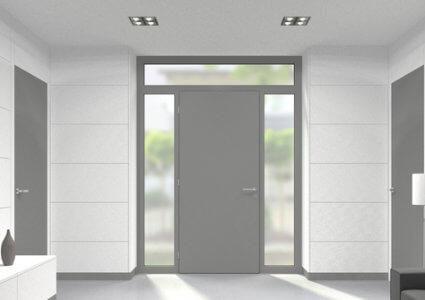 Kunststoff Oberlicht für Türen der Stärke 60 mm