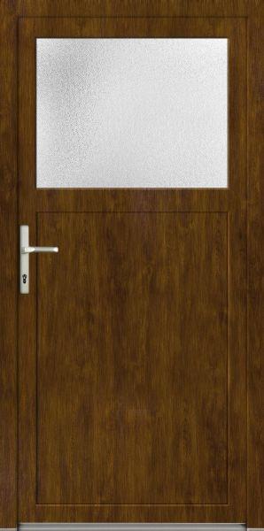 "LAGER Kunststoff Nebeneingangstür ""ANTONIA-Q"" 70 mm Golden Oak"