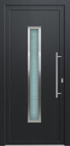"LAGER Kunststoff Haustür ""LORE"" 70mm Anthrazit"