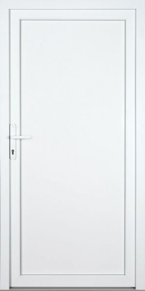 "Kunststoff Aluminium Nebeneingangstür ""DIANA"" 70mm"