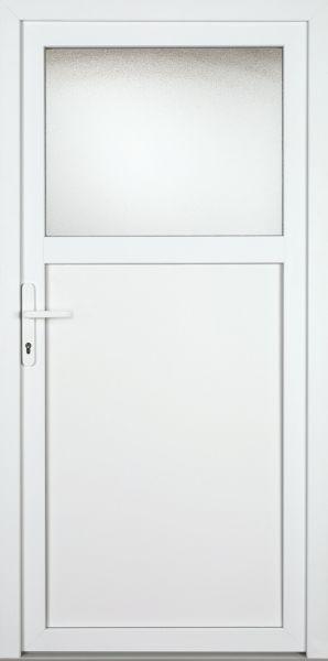 "Kunststoff-Aluminium Nebeneingangstür ""ANTONIA-M"" 70mm"