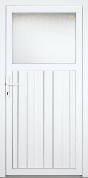 "Kunststoff Nebeneingangstür ""SANDRA"" 70mm"